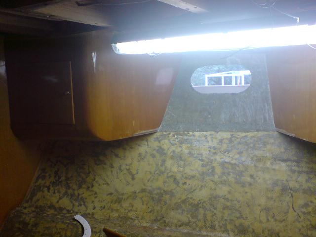 rénovation intérieur bateau